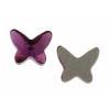 Swarovski Flatback 2854 Butterfly 8mm Amethyst